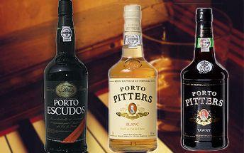 Pravé Porto Escudos a Pitters od 169 Kč! Portské víno s ochrannou známkou původu!