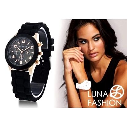 Dámské hodinky Geneva Luna Fashion: 5 barev a doručení