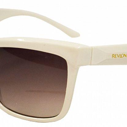 Dámske biele slnečné okuliare Revlon