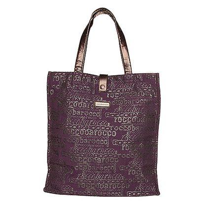 Fialová skládací taška