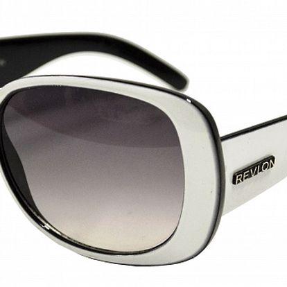 Dámske bielo-čierne slnečné okuliare Revlon