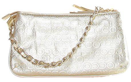 Zlatá kabelka s řetízkem