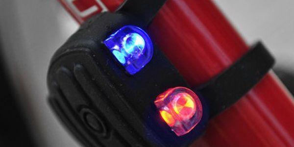 Výstražné světlo na kolo silikonové a poštovné ZDARMA! - 6503268
