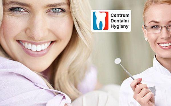 Komplexní a důkladná dentální hygiena (75 min)