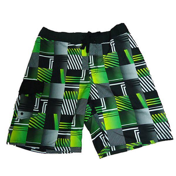 Pánské zelené plavky Beack Short