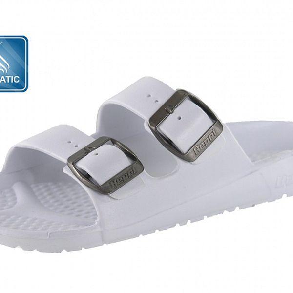 Dámské bílé pantofle Beppi s vůní