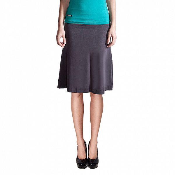 Dámská tmavě šedá krátká sukně Yuliya Babich