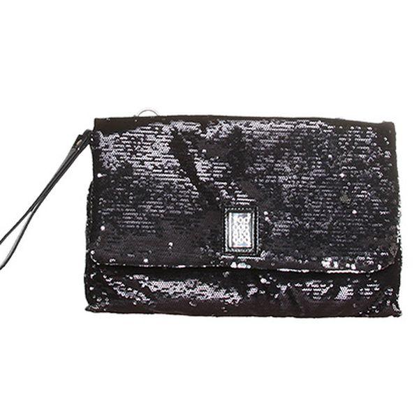 Černá kabelka s glitry