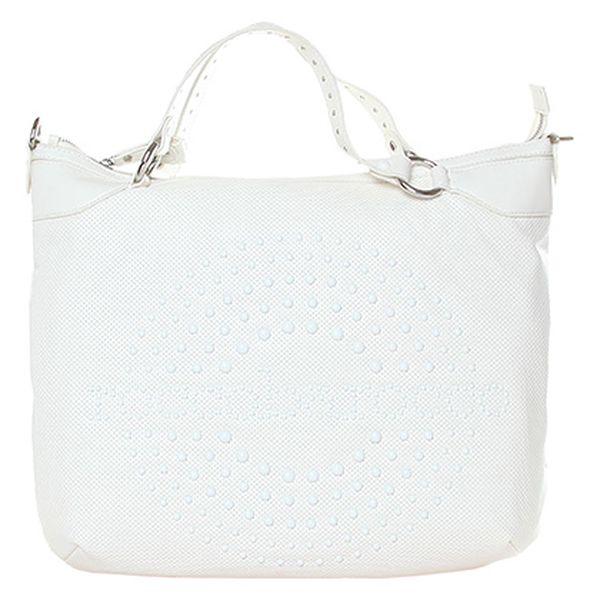 Bílá taška do ruky i na rameno