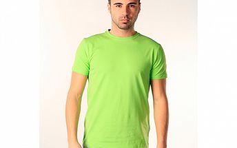 Pánské zelené triko s krátkým rukávem SixValves
