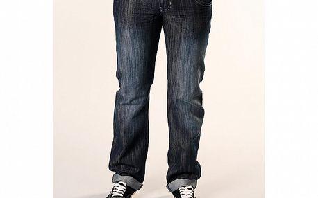 Pánské tmavě modré džíny SixValves