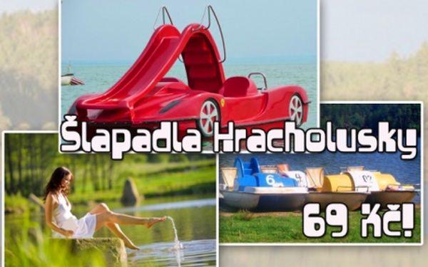 ŠLAPADLA! Projeďte se na vodě ve Ferrari! Fantastická zábava pro slunečné dny na přehradě Hracholusky!!!
