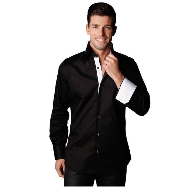 Pánská košile Gazoil CHAN černá