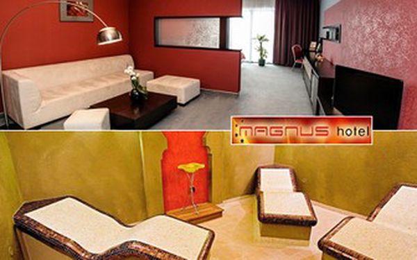 3denní WELLNESS pobyt s POLOPENZÍ pro 2 v hotelu Magnus**** v Trenčíně. NEOMEZENÝ VSTUP do wellness.