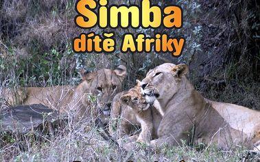 Simba dítě Afriky s ilustracemi autorky Zuzany Samkové. Text česko-anglický.