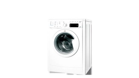 Předem plněná pračka se sušičkou Indesit IWDE 7125B svelkým digitálním displejem