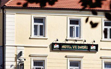 Letní DOVOLENÁ ve Spáleném Poříčí u Plzně! 5denní pobyt pro 2, bohatá PLNÁ PENZE, WELLNESS + další bonusy v přepychovém ***hotelu Ve Dvoře!