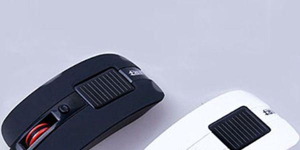 Optická bezdrátová myš na solární energii ve 2 barvách a poštovné ZDARMA! - 2203281