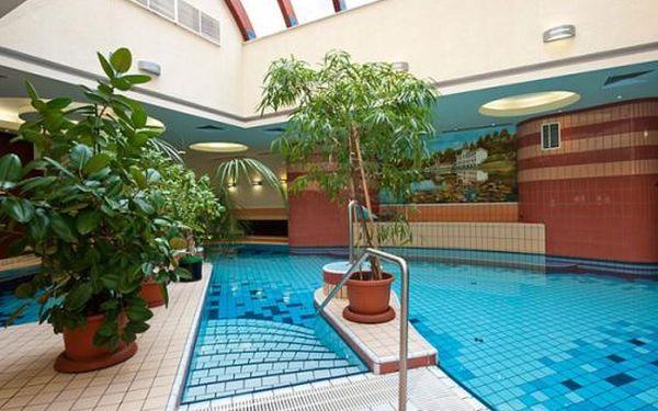 Přepychový wellness u termálního jezera Héviz pro dva s polopenzí v Palace Hotelu 4*na pět dní!
