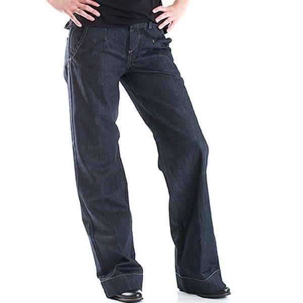Tmavé zvonové džíny Hugo Boss