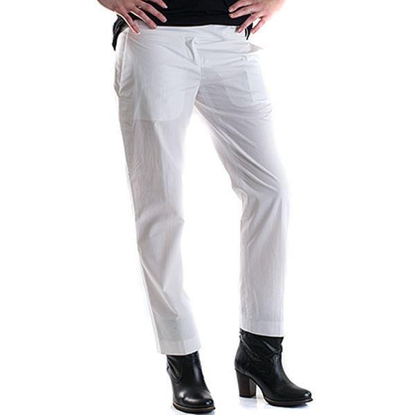 Bílé kalhoty s puky Hugo Boss