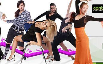 Letní permanentka na 10 lekcí v Centru Tance Praha