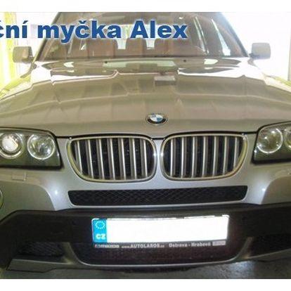 139 Kč za ruční mytí auta s vysáváním interiéru!