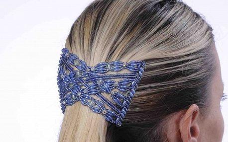 Perfektní spona do vlasů vč. pírek od Bijoux & Bijoux Exclusive