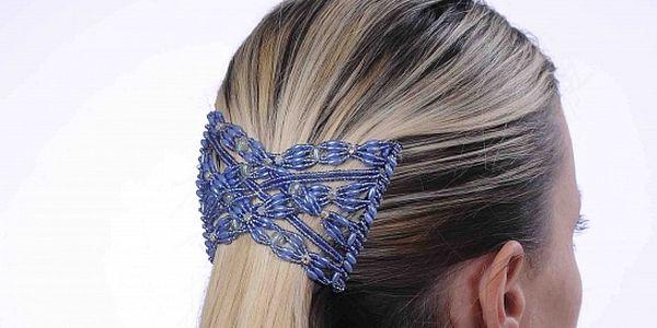 Perfektní spona do vlasů vč. pírek od Bijoux   Bijoux Exclusive 327d49e0c9
