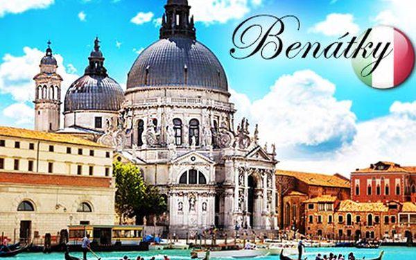 Poznávací zájezd do Benátek za 1190 Kč! Výběr ze 2 červnových termínů.