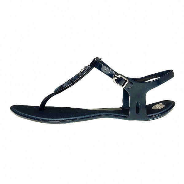Dámské temně modré sandály Mel se sovičkou
