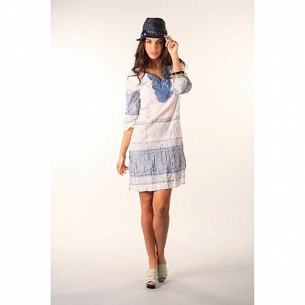 Dámské světle modré šaty Ada Gatti
