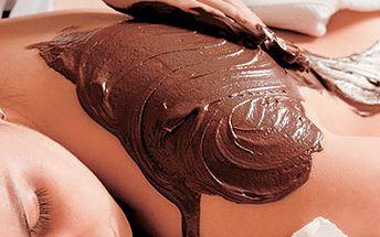 80 - 90 minutová Čokoládová masáž včetně 2 dárečků za sladkých 330 Kč!