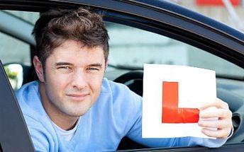Kompletní kurz autoškoly jen za 5880 Kč!