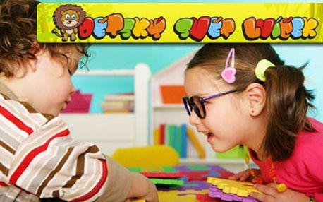 79 Kč za den plný zábavy v Dětském světě Lvíček! Super tip na výlet pro celou rodinu.