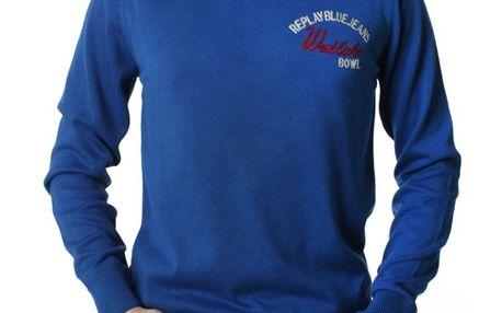 Pánský svetr Replay modrý