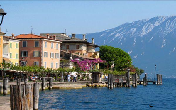 Lago di Garda, 4 dny s polopenzí u slavného italského jezera v letovisku Gargnano. Termíny červen - říjen.