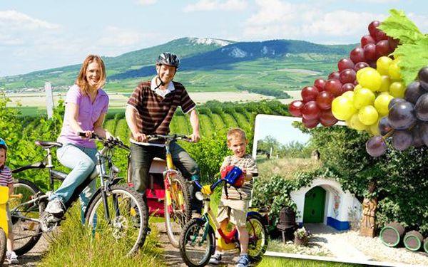Slovácko a vinařské cyklostezky na Moravě na 8 dní. Úschova kol zdarma, možnost rybolovu v areálu kempu Babí hora. Letní dovolená v chatkách pro 2 nebo 4 osoby v srdci slováckého kraje na jižní Moravě.