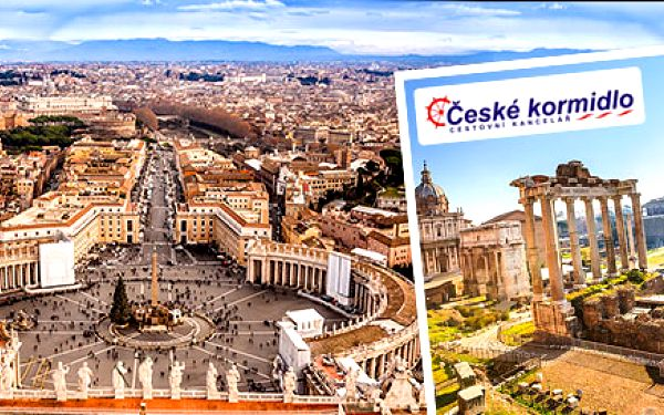 4 dňový poznávací zájazd do Florencie, Ríma a Vatikánu