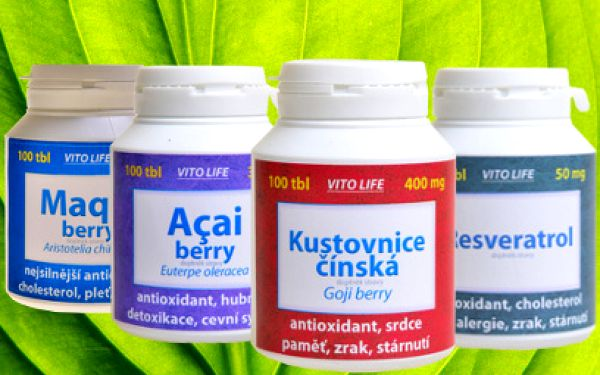 Nejsilnějšie antioxidanty pre zdravie a krásu od 5.40 eur! Naviac Elistin ako darček!
