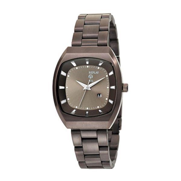 Dámské hodinky Replay antracitové