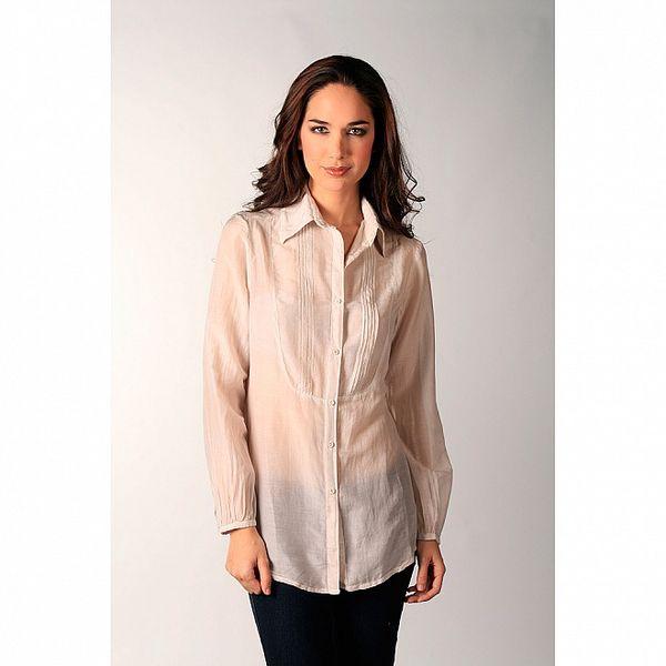 Dámska krémová košeľa Ada Gatti