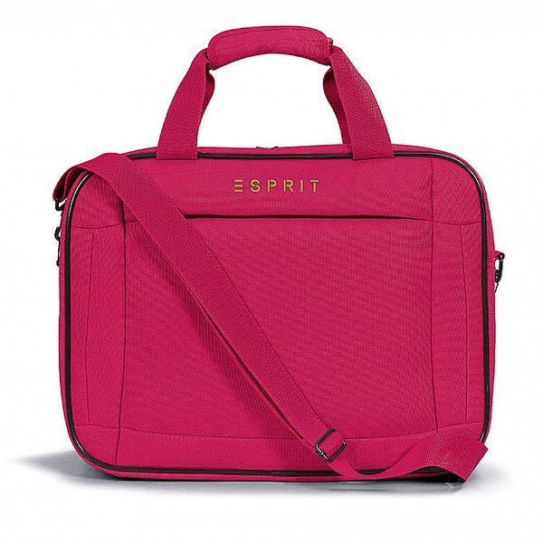 Dámska ružová taštička do lietadla Esprit