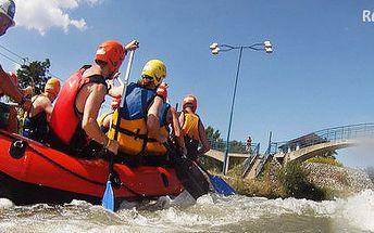 XXL rafting na divokej vode s občerstvením Čunovo
