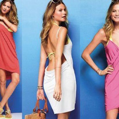 Pořiďte si lehké a příjemné letní šaty s doručením zdarma! V těchto lehkých plážových šatech budete neustále elegantní i v tom největším horku. Na výběr z šesti barevných provedení.