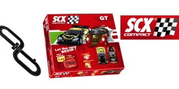 Autodráha SCX 31970 - Compact GT Porsche 911 vs. Corvette C6R