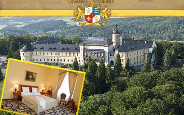 3 dny na zámku Zbiroh PRO DVA za 4199 Kč! Romantika z pohádky!