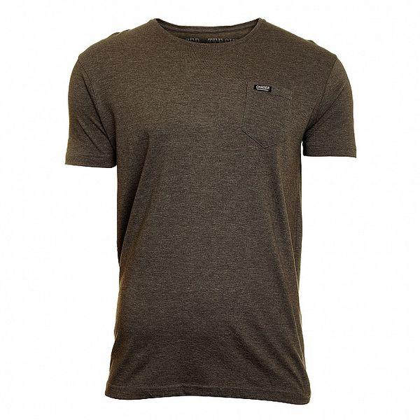 Pánske šedé tričko Chaser