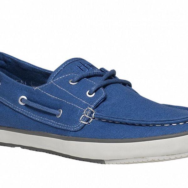 Pánske modré textilné topánky TBS