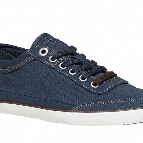 Pánske tmavo modré textilné tenisky TBS